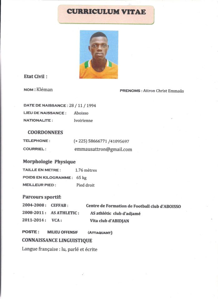 urgent agent fifa recherche joueurs football talentueu suis reche