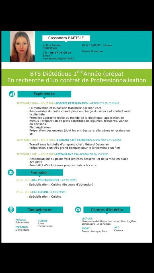 forum di u00e9t u00e9tique stage stage pour dietetique