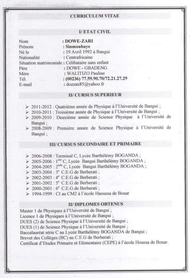 demande preinsciption sui jeune gabonais voulant etudier une univ
