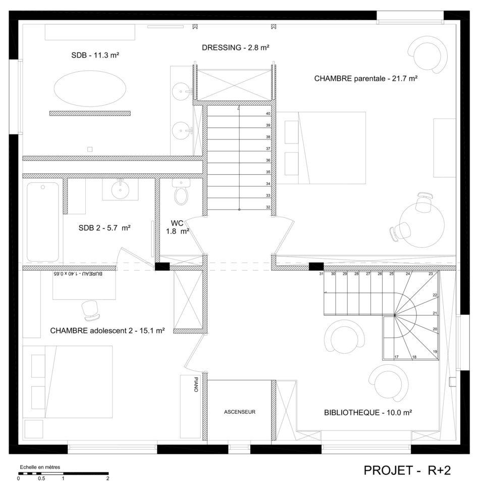 particulier recherche etudiant architecte pour realise idee est f. Black Bedroom Furniture Sets. Home Design Ideas