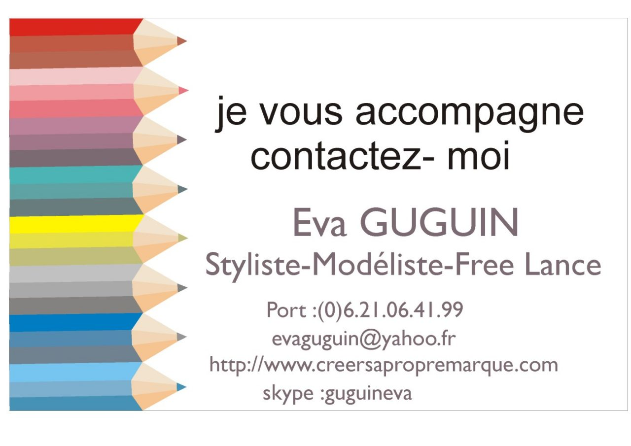 styliste modeliste accompagnement creation marque agrement free l